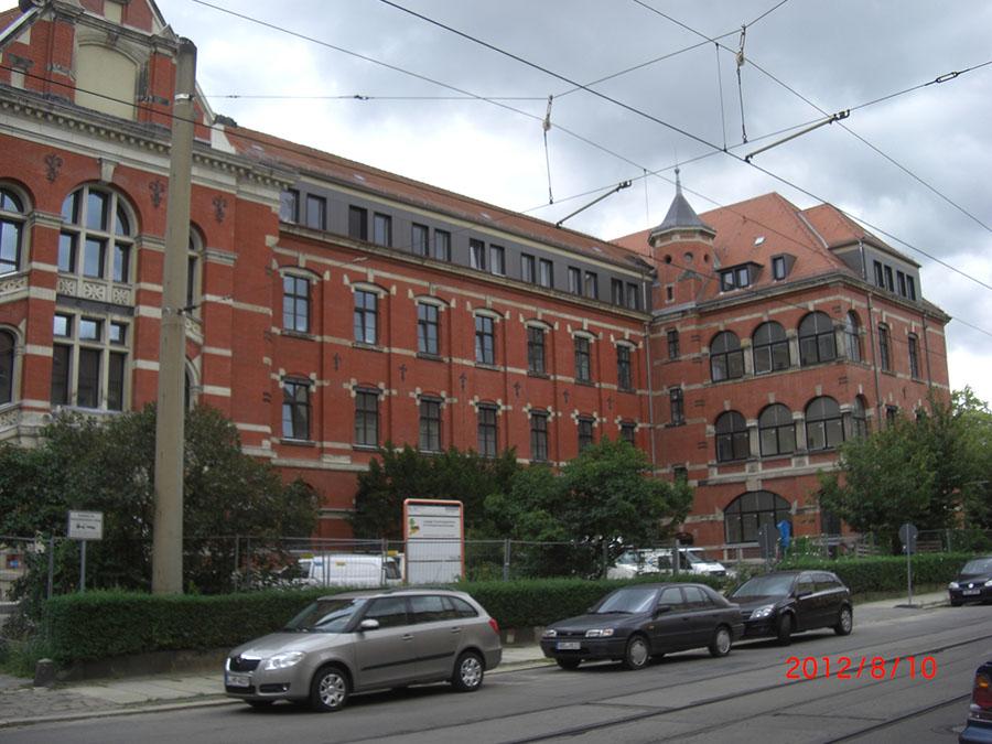 Gebäude der UKL